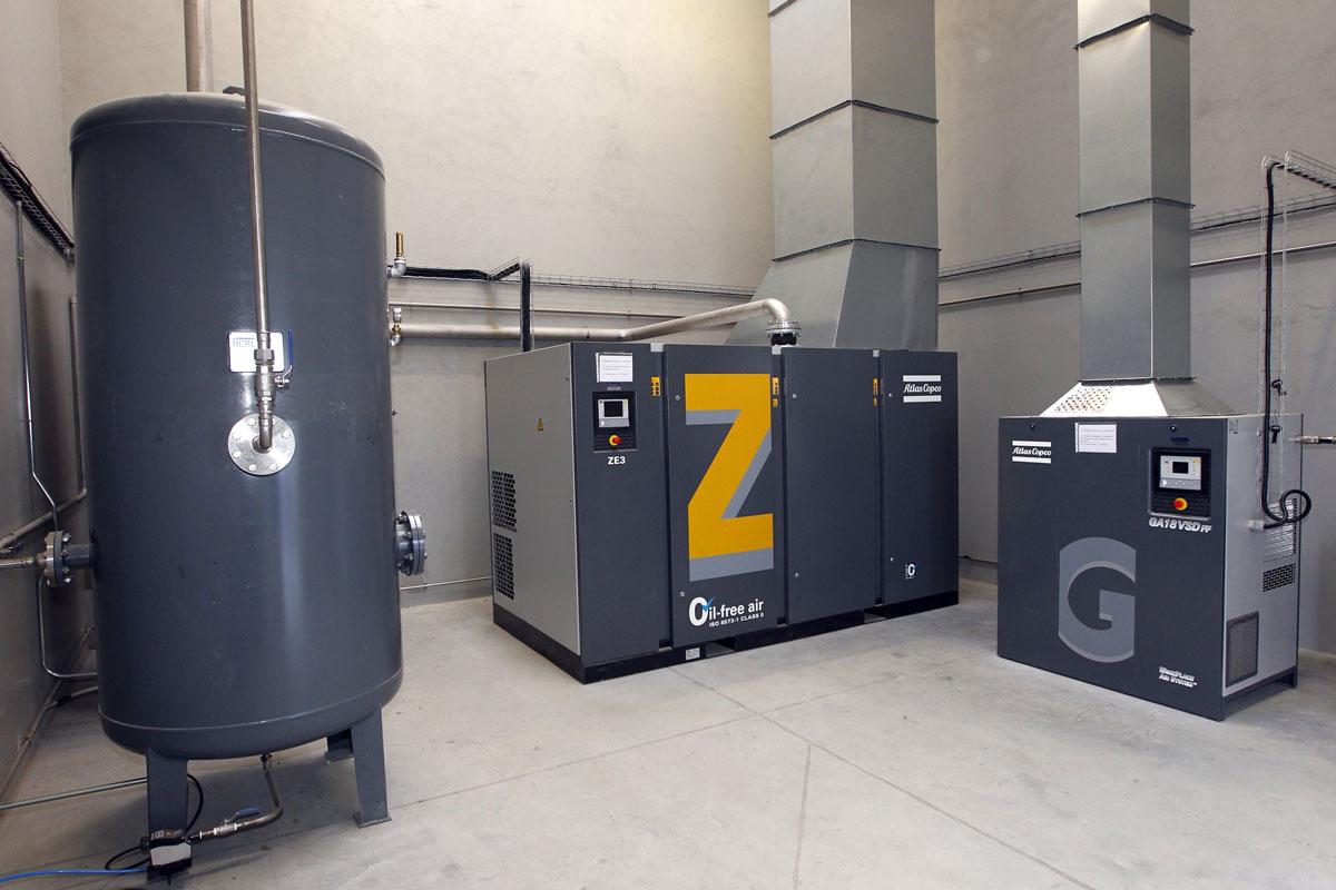 Generadores de aire comprimido