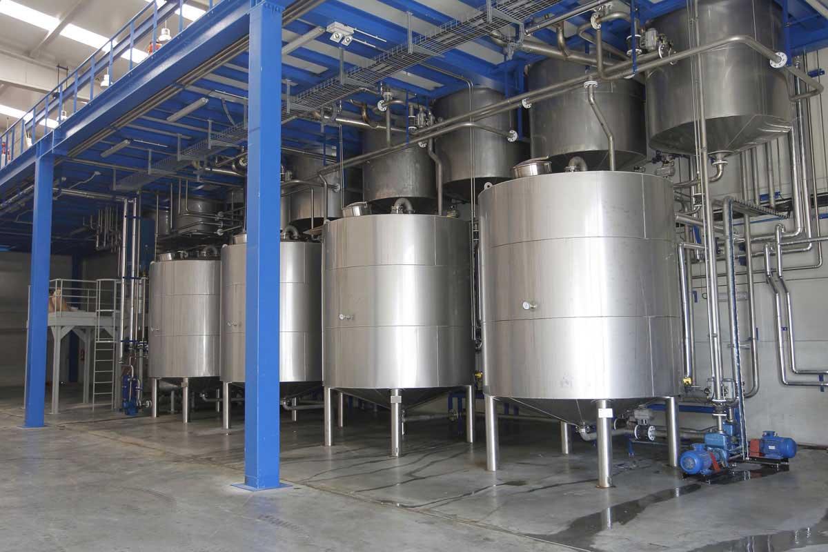 Insalaciones de depositos AFAMSA, transformación de aceites de pescado y grasa de palma